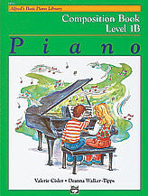 Alfred's Basic Piano Course: Composition Book 1B 00-14511   upc 038081126951