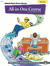 Alfred's Basic All-in-One Course, Book 5 00-14513   upc 038081127897