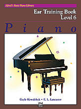 Alfred's Basic Piano Course: Ear Training Book 6 00-14538   upc 038081139906