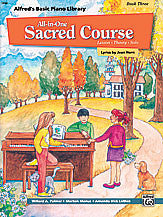 Alfred's Basic All-in-One Sacred Course, Book 3 00-14560   upc 038081150048