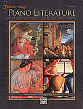 Discovering Piano Literature, Book 3 00-14576   upc 038081169149