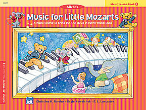 Music for Little Mozarts: Music Lesson Book 1 00-14577   upc 038081169163