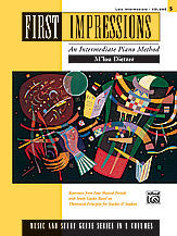 First Impressions: Music and Study Guides, Volume 5 00-14734   upc 038081132167