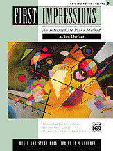 First Impressions: Music and Study Guides, Volume B 00-14760   upc 038081135229