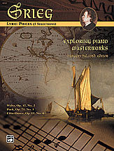Exploring Piano Masterworks: Lyric Pieces (3 Selections) 00-16727   upc 038081175362