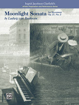 Moonlight Sonata, 1st Movement-Artistic Preparation and Performance Series 00-16745   upc 038081175324