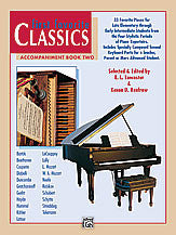 First Favorite Classics: Accompaniment, Book 2 00-16809   upc 038081137681