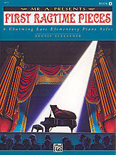 "Mr. ""A"" Presents First Ragtime Pieces, Book 1 00-16875   upc 038081140179"