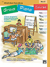 Alfred's Basic Group Piano Course, Book 3 00-18092   upc 038081158389