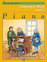 Alfred's Basic Piano Course: Composition Book 3 00-18104   upc 038081159560