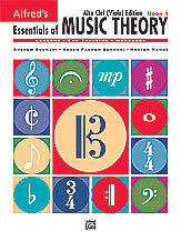 Alfred's Essentials of Music Theory: Book 1 Alto Clef (Viola) Edition 00-18580   upc 038081177427