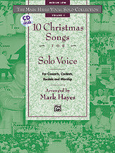 The Mark Hayes Vocal Solo Collection: 10 Christmas Songs for Solo Voice 00-18921   upc 038081170893