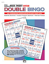 Alfred's Essentials of Music Theory: Double Bingo Game -- Rhythm 00-19479   upc 038081190877