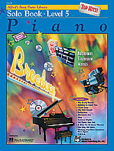 Alfred's Basic Piano Course: Top Hits! Solo Book 5 00-19658   upc 038081190037