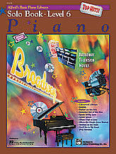 Alfred's Basic Piano Course: Top Hits! Solo Book 6 00-19659   upc 038081190044