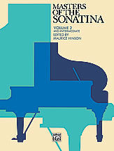 Masters of the Sonatina, Book 2 00-2207   upc 038081005430