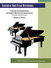 Essential Two-Piano Repertoire 00-22507   upc 038081233123