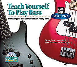 Alfred's Teach Yourself to Play Bass 00-22609   upc 038081226224