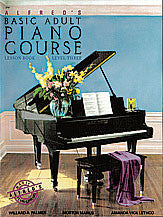 Alfred's Basic Adult Piano Course: Lesson Book 3 00-2263   upc 038081001012