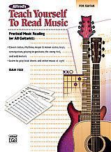 Alfred's Teach Yourself to Read Music for Guitar 00-23217   upc 038081263342