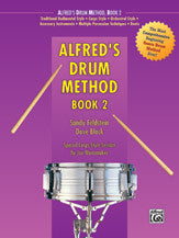 Alfred's Drum Method, Book 2 00-238   upc 038081010335