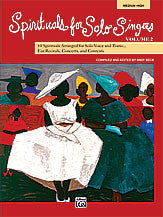 Spirituals for Solo Singers, Book 2 00-23913   upc 038081239620