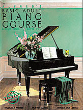Alfred's Basic Adult Piano Course: Lesson Book 2 00-2461   upc 038081000725