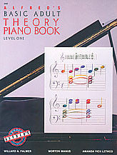 Alfred's Basic Adult Piano Course: Theory Book 1 00-2462   upc 038081007144