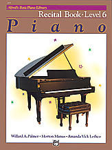 Alfred's Basic Piano Course: Recital Book 6 00-2499   upc 038081001043