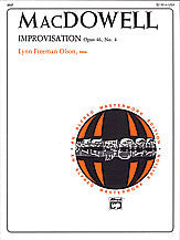 Improvisation, Op. 46, No. 4 00-2637   upc 038081039183
