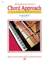 Alfred's Basic Piano: Chord Approach Lesson Book 1 00-2644   upc 038081012254