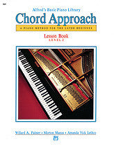Alfred's Basic Piano: Chord Approach Lesson Book 2 00-2645   upc 038081012360