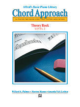 Alfred's Basic Piano: Chord Approach Theory Book 2 00-2647   upc 038081002699