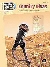 Ultimate Vocal Sing-Along: Country Divas (Female Voice) 00-26490   upc 038081291222