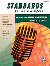 Standards for Solo Singers 00-27461   upc 038081297194