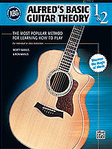 Alfred's Basic Guitar Theory, Books 1 & 2 00-28387   upc 038081309323