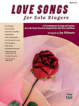 Love Songs for Solo Singers 00-28867   upc 038081314112