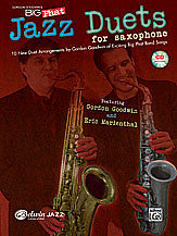 Gordon Goodwin's Big Phat Jazz Saxophone Duets 00-30676   upc 038081356808