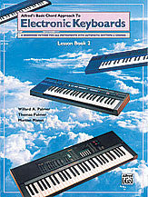 Alfred's Basic Chord Approach to Electronic Keyboards: Lesson Book 2 00-3099   upc 038081025841