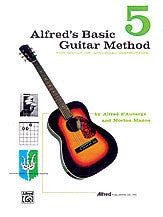 Alfred's Basic Guitar Method 5 00-311   upc 038081031583