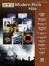 10 for 10 Sheet Music: Modern Rock Hits 00-31473   upc 038081336510