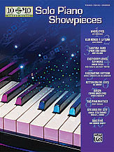 10 for 10 Sheet Music: Solo Piano Showpieces 00-31475   upc 038081336534