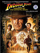 <I>Indiana Jones and the Kingdom of the Crystal Skull</I> Instrumental Solos for Strings 00-31782   upc 038081341644