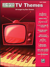 10 for 10 Sheet Music: TV Themes 00-33222   upc 038081357676