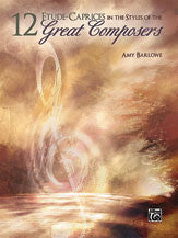 12 Etude--Caprices in the Styles of the Great Composers 00-33320   upc 038081372372
