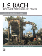 Two-Part Invention No. 8 in F Major 00-3592   upc 038081044422