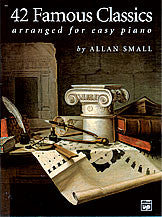 42 Famous Classics for Easy Piano 00-361   upc 038081017327