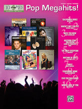 10 for 10 Sheet Music: Pop Megahits! 00-36787   upc 038081408095