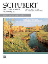 Military March, Op. 51, No. 1 00-4900   upc 038081049458