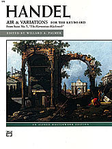 "Air and Variations (""Harmonious Blacksmith"") 00-570   upc 038081022802"
